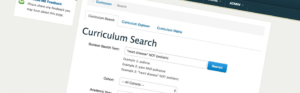 Curriculum Search